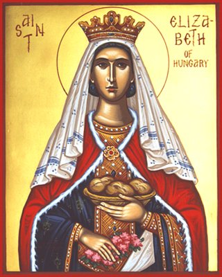 saint elizabeth of hungary What we know of st elizabeth comes from the gospel, the book of luke, in particular in luke, elizabeth, a daughter of the line of aaron, and the wife of zacharias, was righteous before god and was blameless but childless elizabeth is also a cousin to the virgin mary zachariah, desiring a.