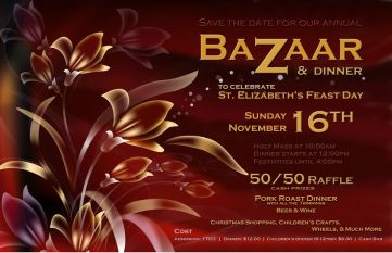 Feast Day Bazaar