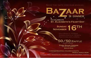 Feast Day Bazaar