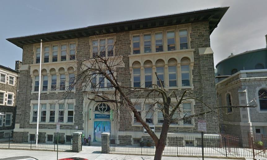 st e school building