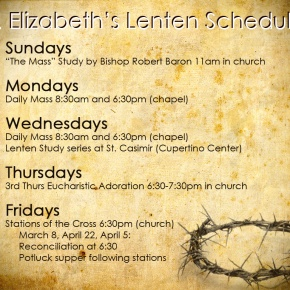 Lent and HolyWeek