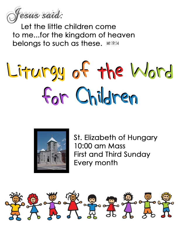 childrens lit of the word flyer copy