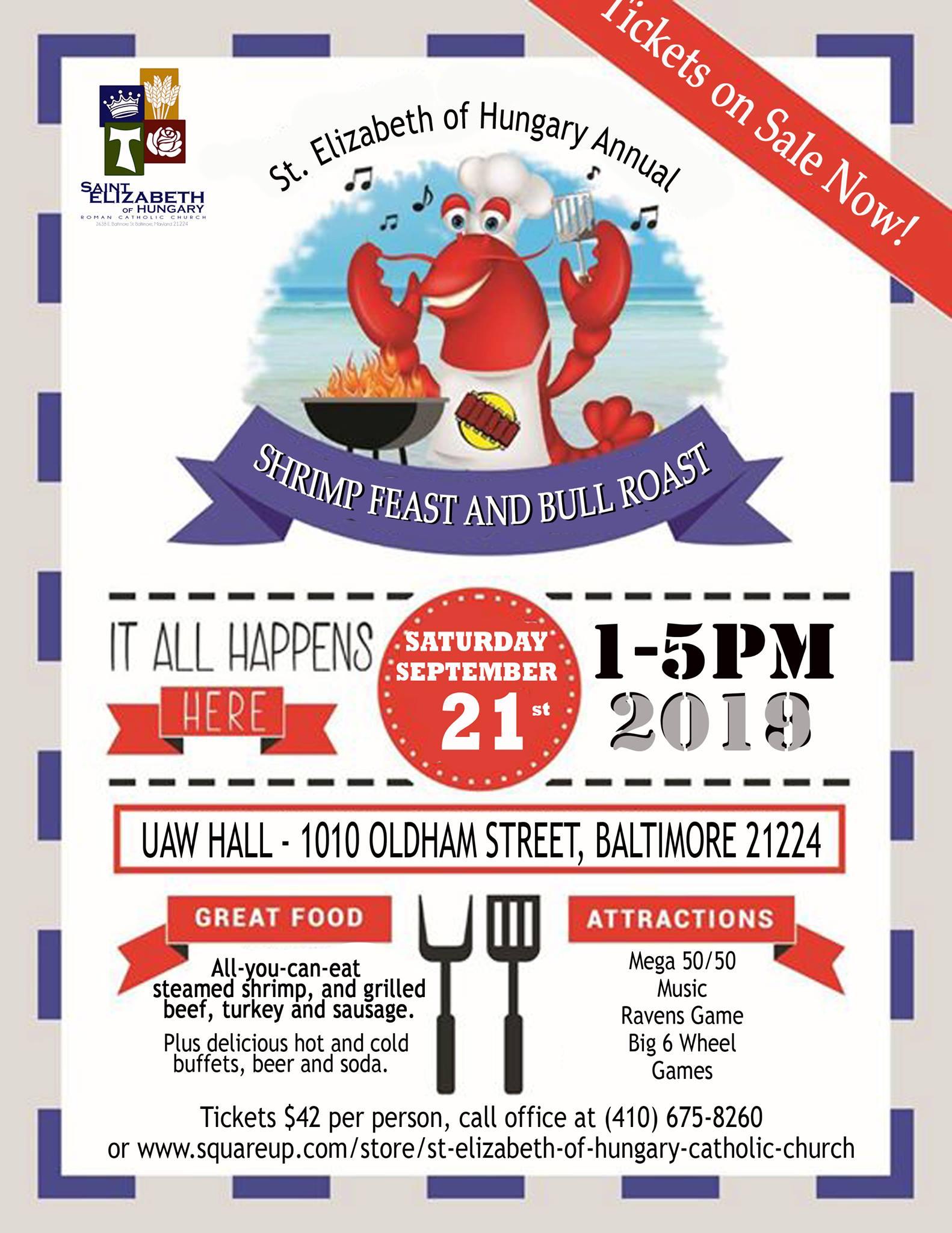 shrimp feast 2019