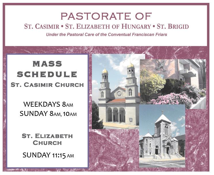 pastorate mass schedule copy